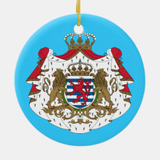 Luxembourg* Coat of Arms Christmas Ornament