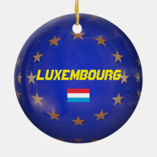 Luxembourg E.U. Christmas Ornament