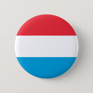 Luxembourg Flag 6 Cm Round Badge