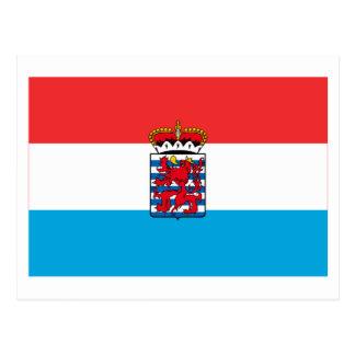 Luxembourg Flag (de legis) Postcard
