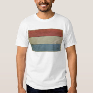 Luxembourg Flag (grunged) T-shirt