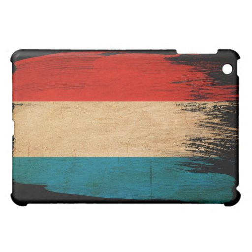 Luxembourg Flag Cover For The iPad Mini