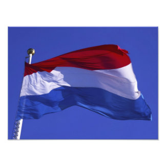 Luxembourg flag RF) Photo Print