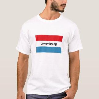 Luxembourg flag souvenir tshirt