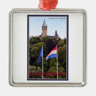 Luxembourg Flags Christmas Ornament