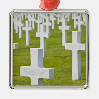 Luxembourg, Hamm. US Military Cemetery Christmas Ornament