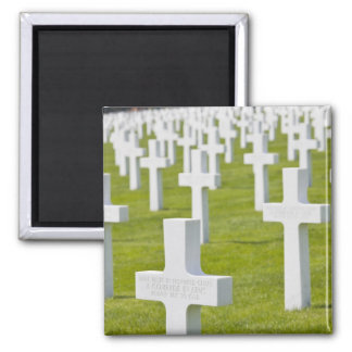Luxembourg, Hamm. US Military Cemetery Magnet