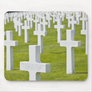 Luxembourg, Hamm. US Military Cemetery Mouse Mat