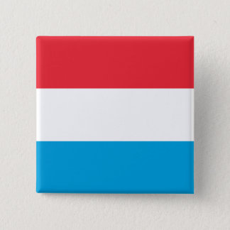 Luxembourg, Lithuania flag 15 Cm Square Badge
