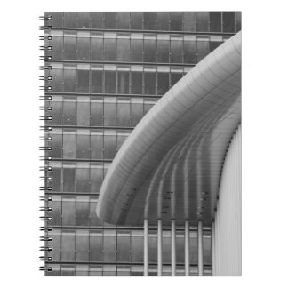 Luxembourg, Luxembourg City, Kirchberg Plateau. Notebook