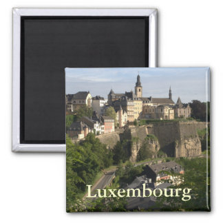 Luxembourg Square Magnet