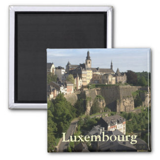 Luxembourg Refrigerator Magnets