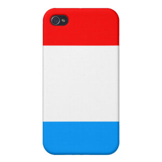 Luxembourg National Nation Flag  Covers For iPhone 4