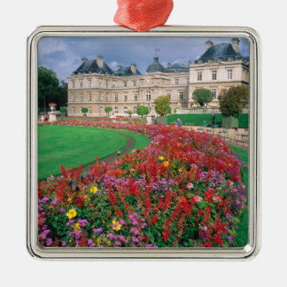 Luxembourg Palace in Paris, France. Christmas Ornament