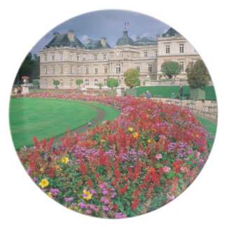Luxembourg Palace in Paris, France. Party Plate