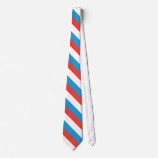 Luxembourg Plain Flag Tie