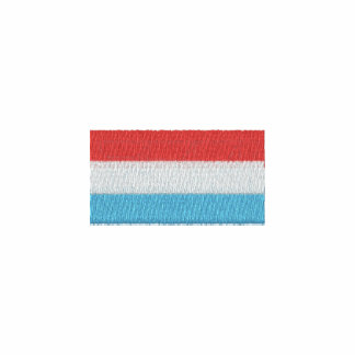 Luxembourg polo shirt - Luxembourgian Flag