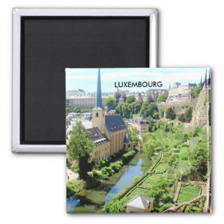 LUXEMBOURG REFRIGERATOR MAGNET