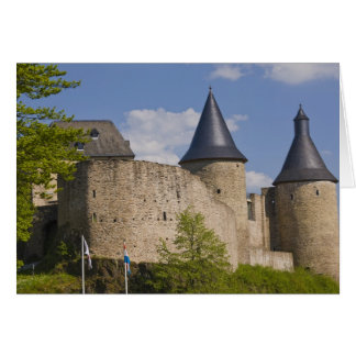 Luxembourg, Sure River Valley. Bourscheid, Card