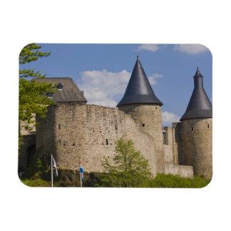 Luxembourg, Sure River Valley. Bourscheid, Magnet