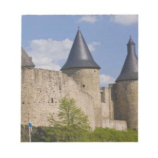 Luxembourg, Sure River Valley. Bourscheid, Notepad