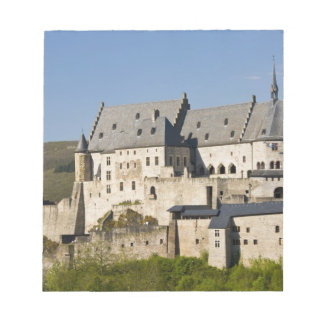 Luxembourg, Vianden. Vianden Chateau (b. 15th Notepad