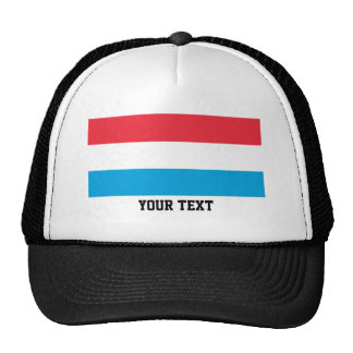 Luxembourger flag cap