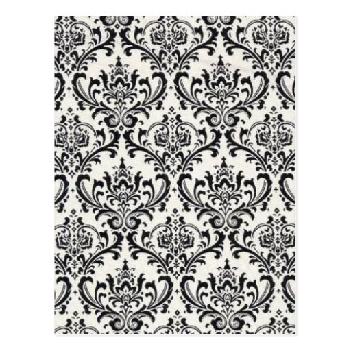 LUXERY BLACK AND WHITE 2 POST CARDS