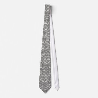 LUXERY BLACK AND WHITE 2 TIE