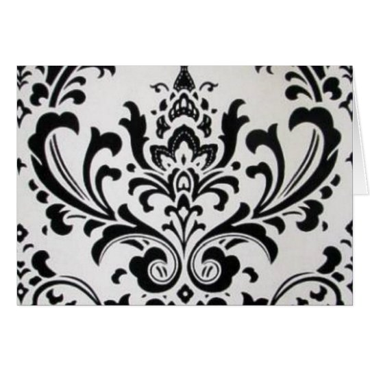 LUXERY BLACK AND WHITE CARD
