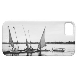 Luxor Egypt, Feluccas on the Nile 2 iPhone 5 Case