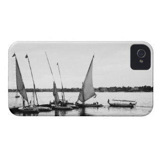 Luxor Egypt, Feluccas on the Nile 2 iPhone 4 Case-Mate Case