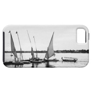 Luxor Egypt, Feluccas on the Nile 2 iPhone 5 Cover