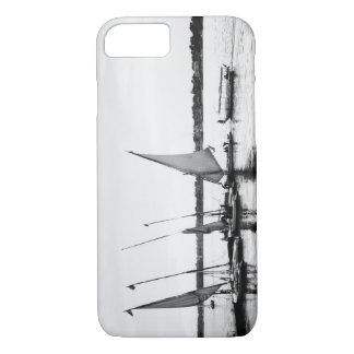 Luxor Egypt, Feluccas on the Nile 2 iPhone 8/7 Case