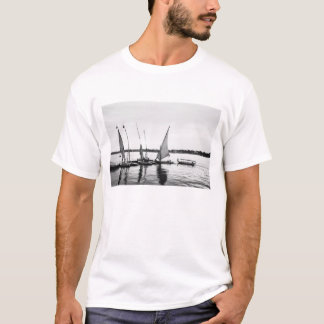 Luxor Egypt, Feluccas on the Nile 2 T-Shirt