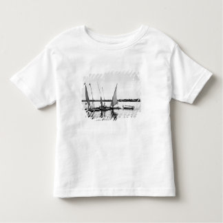 Luxor Egypt, Feluccas on the Nile 2 Toddler T-Shirt