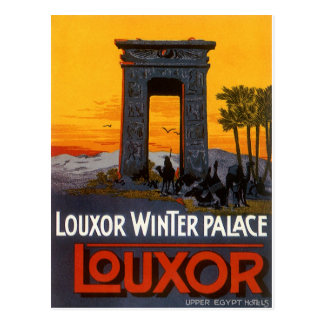 Luxor Egypt Postcard
