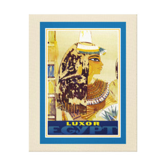 Luxor Tourism Canvas Print