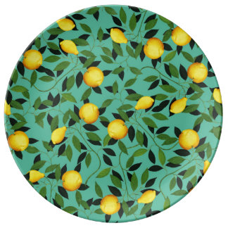 Luxuriance Porcelain Plate