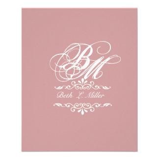Luxurious Classic Elegant Pursuit Monogram Flyer