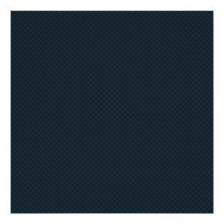 luxurious tiny grey pattern on rough dark blue bac poster