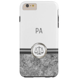 Luxury Attorney Themed Tough iPhone 6 Plus Case