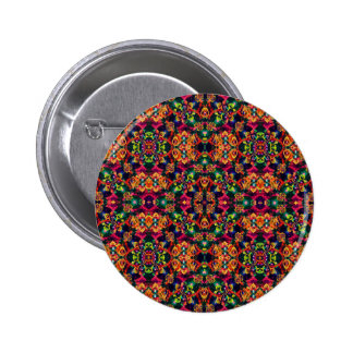 Luxury Boho Baroque 6 Cm Round Badge