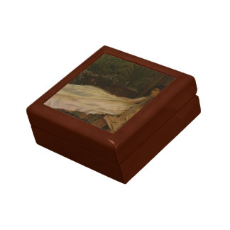 Luxury by John Atkinson Grimshaw Small Square Gift Box