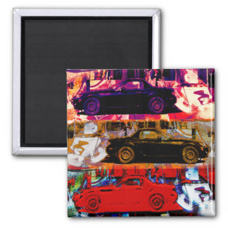 luxury cars magnet