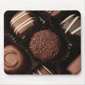 luxury chocolates close up mouse mat