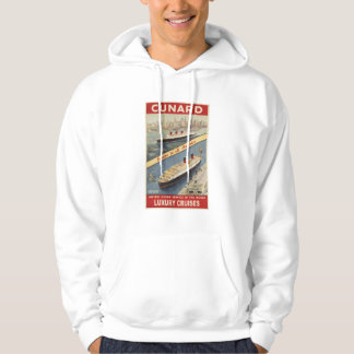 Luxury Cruises Travel Europe to all America Hoodie