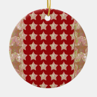 LUXURY DIVA Couture:  Elegant STAR Collection love Christmas Tree Ornament