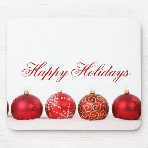 Luxury Elegant Winter Holiday Mousepad Mouse Pad