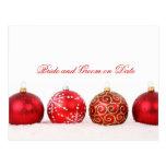 Luxury Elegant Winter Holiday Save date card